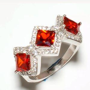 Beautiful Garnet Ring